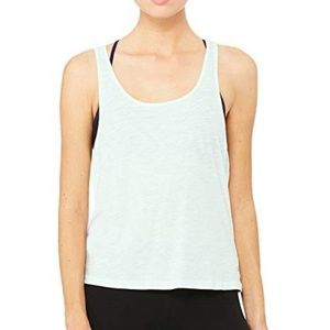 Alo Yoga Mint Green Strappy Back Athletic Tank